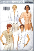 Butterick 3510 Misses' Semi-fitted Blouses - Size 18 20 22
