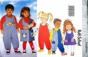 Butterick 4691 Children's Jumper & Jumpsuit Size 4, 5, 6