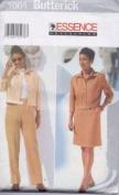 Butterick 5005 Misses'/Misses' Petite Jacket, Skirt & Pants, Size 14 16 18