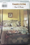 Butterick Sewing Pattern 3924 Bedcover and Accesories
