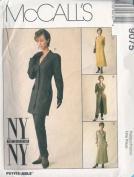 McCall's 9075 Misses' Unlined Jacket, Dress & Pants, E Size 14 16 18