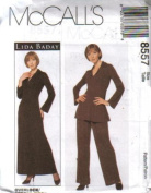 McCall's Sewing Pattern 8557 Misses' Dress, Tunic and Pants - For Stretch Knits Only, Size C