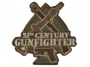 "Mil-Spec Monkey ""21st Century Gunfighter hook and loop Patch - Multicam"