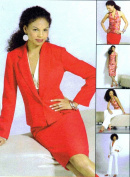 Misses Jacket Halter Top Skirt Pants McCalls 4843 Sewing Pattern Size 6 - 8 - 10 - 12