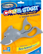RoseArt Colour Start My First Safety Scissors - SHARK Version with SHARK Sounds!