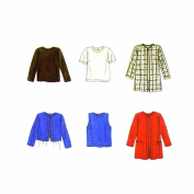 Simplicity 7381 Sewing Pattern Misses Tops Jacket Size 12 - 14 - 16