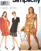Simplicity Sewing Pattern 7758 Misses' Dress - 3 Styles, R