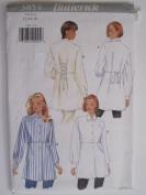 Butterick Pattern 3854 Misses' Shirt Sizes 12-14-16