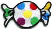 Candy Sweets Jawbreaker Gum Retro Fun Kids Applique Iron-on Patch New S-552 Cute Gift to Your Cloth.