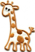 Giraffe Baby Animal Kids Applique Iron-on Patch S-306 Cute Gift to Your Cloth.