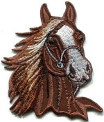 Horse Colt Bronco Filly Mustang Pony Stallion Steed Applique Iron-on Patch S-391 Cute Gift to Your Cloth.