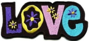 Love Peace Hippie Boho Retro Flower Power Hippy Embroidered Iron-on Patch S-36 Cute Gift to Your Cloth.