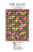The Maze Quilt Pattern, Fat Quarter & Batik Friendly