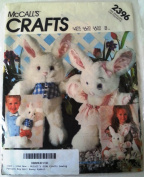 McCall's 2396 Crafts Sewing Pattern Boy Girl Bunny Rabbit