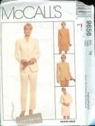 McCall's Pattern #9656 SIZE