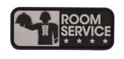 "Mil-Spec Monkey ""Room Service"" PVC hook and loop Patch - SWAT"