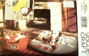 OOP Vogue Craft Pattern 8865. Dog Beds W/covers; Coats with & Without Hoods; Toys for Small; Medium; & Large Dogs