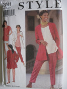 Style Pattern 2241 Misses' Separates Sizes 8-10-12-14-16-18