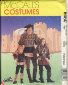 McCall Sewing Pattern 8450 Large - Use to Make - Men's Mediaeval / Renaissance Costumes - Size Large