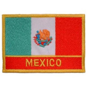Mexico Flag Patch 6.4cm x 8.9cm