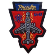 U.S.M.C. Prowler EA-6B Patch Red & Grey 7.6cm