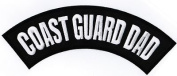 COAST GUARD DAD BACK ROCKER Embroidered Quality Motorcycle Biker Patch LRG-0313