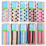 2 Pack Dots & Stripes Dishclothes 30cm x 30cm