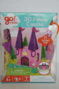 Go! Create 3d Foam Castle