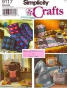 Simplicity Crafts 9117 Woven Quilts