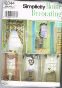 Simplicity Home Decorating 8344 Window Treatments