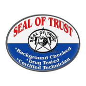Seal of Trust Oval Patch