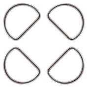 10 - Country Brook Design® 3.8cm Welded D-Rings