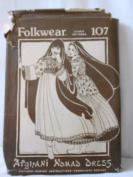 Afghani Nomad Dress Pattern Folkwear 107