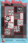 The Big Block Quilt Quilt Pattern, For Large and Scenic Prints, 53 Inche by 180cm Finished Size