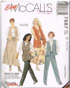 Easy McCall's 7887 Wardrobe for Women