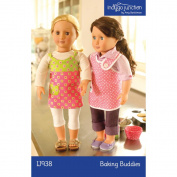 Indygo Junction 46cm Doll Clothes Pattern - Baking Buddies