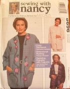 McCall's #8696 SEWING WITH NANCY MISSES' LINED JACKETS SZ S-XL