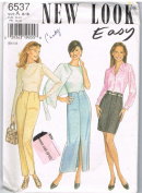 New Look Easy 6537 Skirt and Pants Pattern