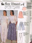 Sewing Pattern Skirts Pants 5256