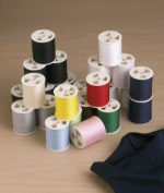 Polyester Sewing Thread Set (24 Spools, 200 Yards Each) by Home-X
