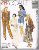 Easy McCall's 6992 Jacket, Skirt and Pants