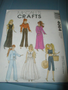 Mccall's Crafts 4064 Doll Patterns