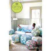 Amy Butler Gum Drop Pillows Ottoman Cushion Sewing Pattern