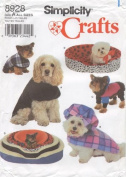 Simplicity Crafts Dog Bed Covers and Coats Sewing Pattern # 8928