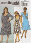 Butterick 5001, Women's Dress, Size RR(18W-24W), OOP