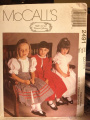 McCall's #2491 Pattern - Size - Child (2-3-4) Ruffles and Lace Treasured Collection Child's