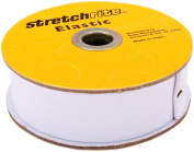 Stretchrite 1-1/2 by 10-Yard White Heavy Stretch Knit Elastic Spool