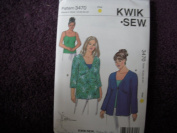 Kwik Sew Pattern #3470 Women's Sizes 1X-2X-3X-4X
