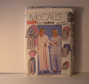 McCall's Easy Endless Options Sewing Pattern 3454 Robe and Pyjamas Size RR (18W-24W) Vintage Pattern