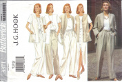 Butterick Pattern 3371 Size/Taille 18-20-22 Misses' Jacket Vest Skirt & Pants J. G. Hook